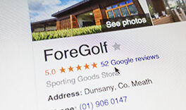 Read what ForeGolf customers say about our service and the results they are getting with their new clubs.