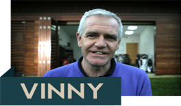 Meet Vinny and watch his ForeGolf custom fitting analysis