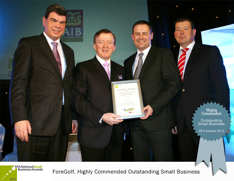 ForeGolf Small Firms SFA Awards 2013