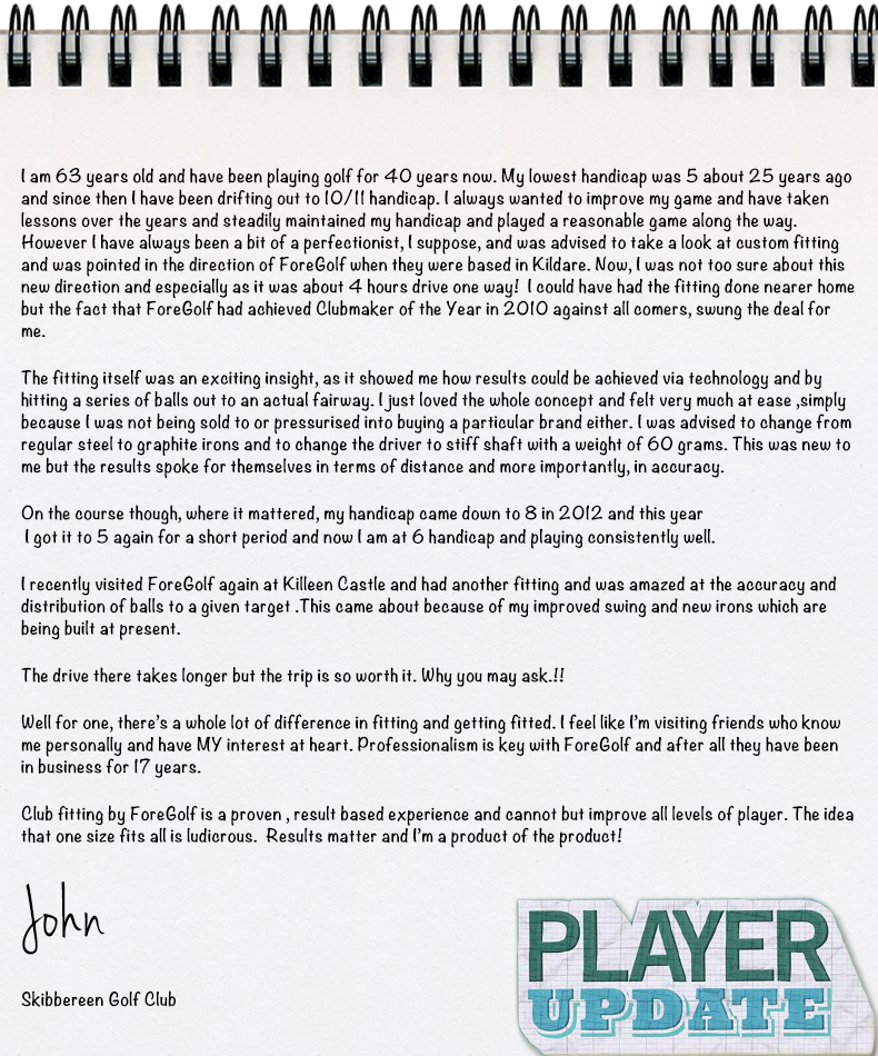 Read John's Review of ForeGolf