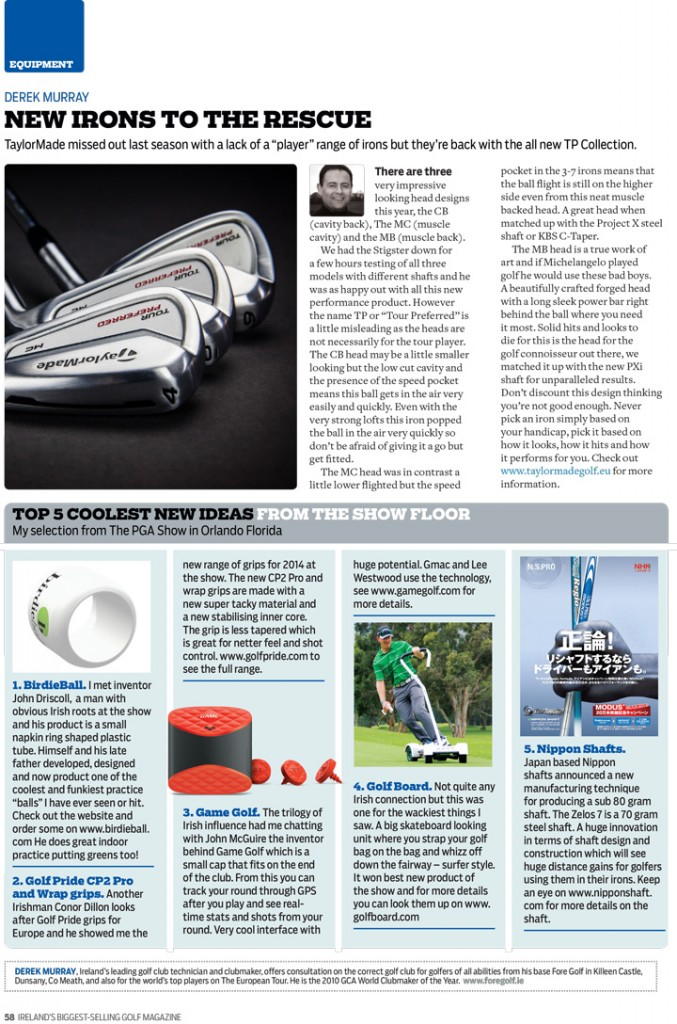 Golf Digest Ireland TaylorMade SLDR Orlando Show | ForeGolf