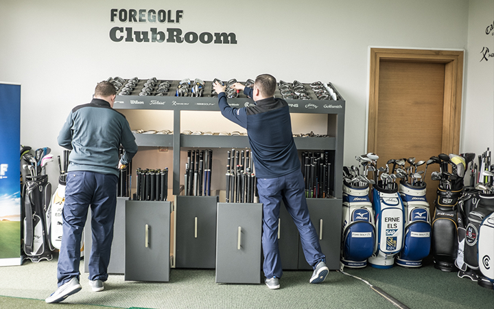 Have you seen The Custom Club Unit at ForeGolf