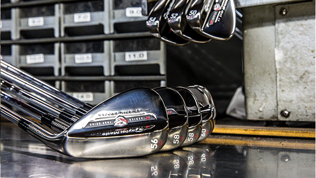 The New Taylor Made EF TP Wedges = Game Changer