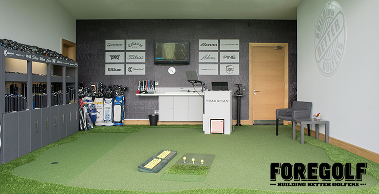 The New ForeGolf ClubRoom with Custom Strike Zone