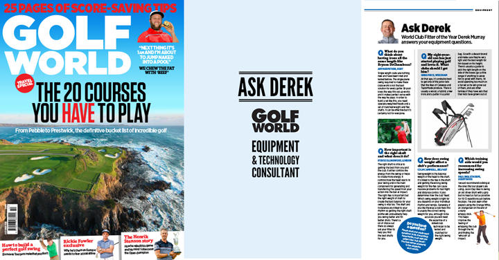 Golf World Magazine – Ask Derek
