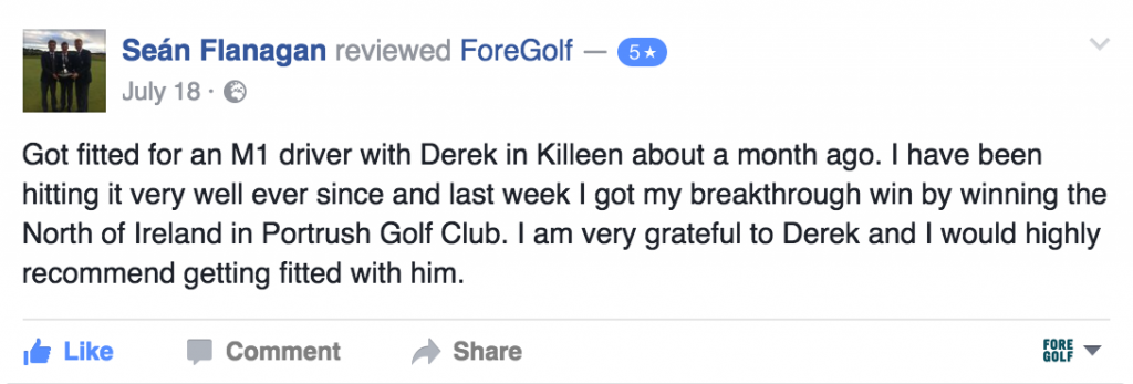 ForeGolf Review