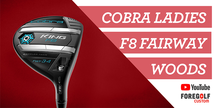 Cobra Ladies King F8 Fairway Wood Review: YouTube