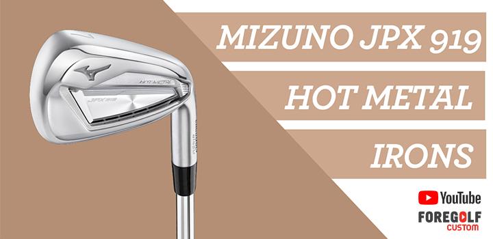 Mizuno Golf JPX 919 Hot Metal Irons Review: YouTube