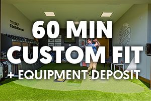 1 Hour Custom Fit ForeGolf Gift Voucher + Deposit