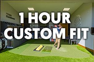 1 Hour Custom Fit ForeGolf Gift Voucher