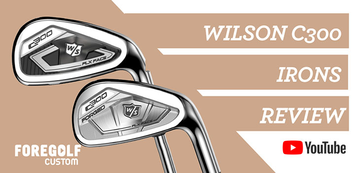 Wilson C300 Irons Review : YouTube