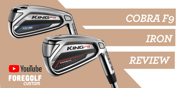 Cobra King F9 Iron Fitters Review : YouTube