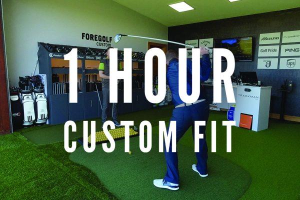 ForeGolf 1 Hour Custom Fit Gift Voucher