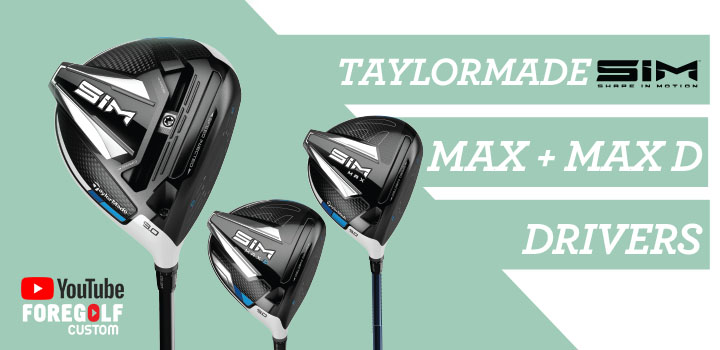 TaylorMade SIM Max and MaxD Driver Review : YouTube