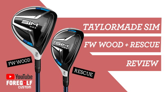 TaylorMade SIM FW + Rescue/Hybrid Review : YouTube