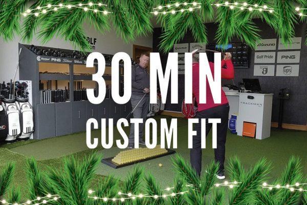 ForeGolf Gift Voucher 30 Minute Custom Fit