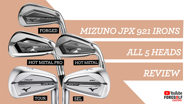 Mizuno JPX 921 Irons|Expert Review of all 5 heads :YouTube